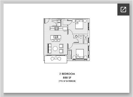 2-Bedroom Apartment (End Unit)