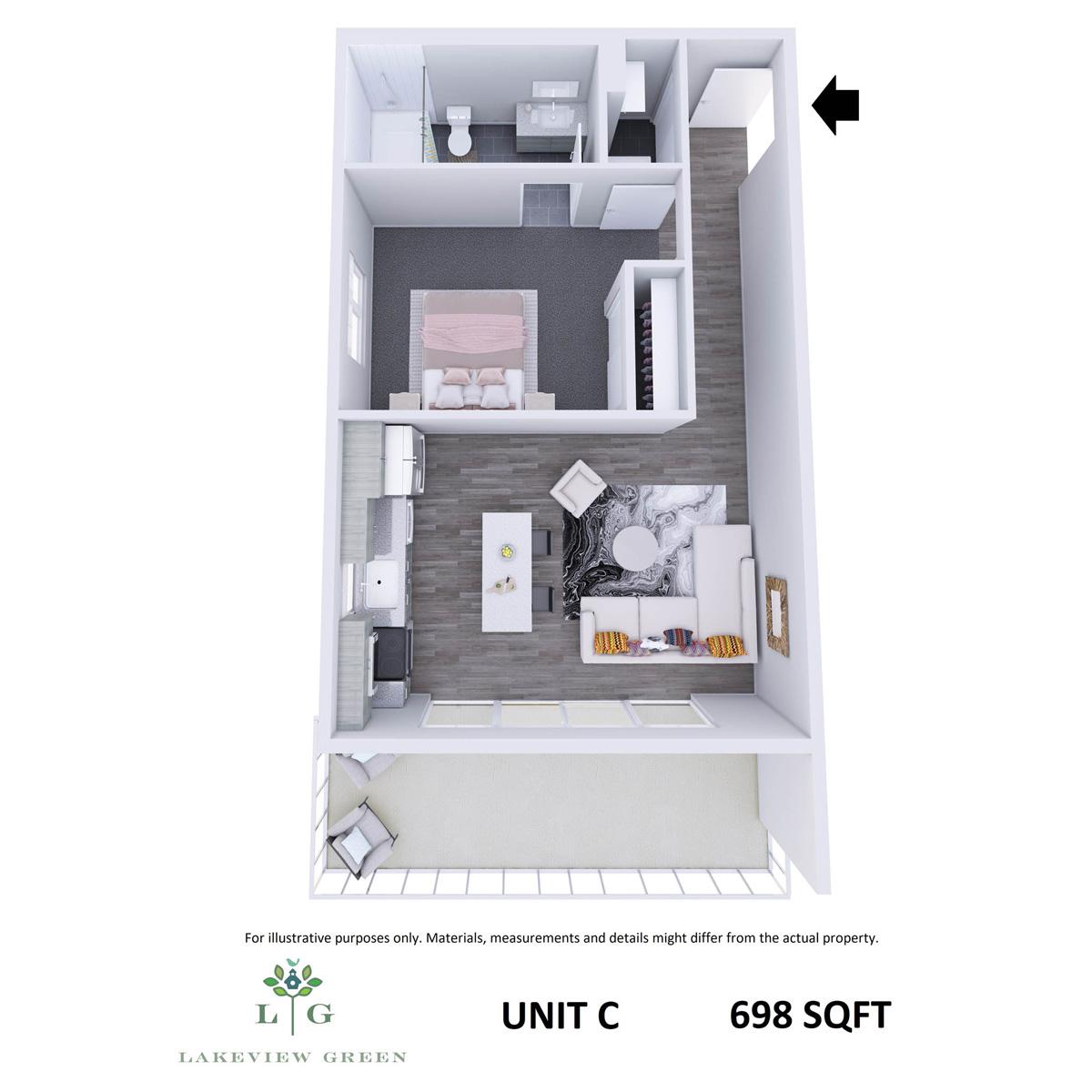 2-Bedroom Condo